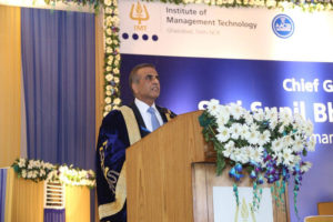 """Youth Graduating Today Must Know the Global Paradigm Shift"" – Sunil Bharti Mittal at the IMT Convocation 2017"