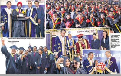 Students Celebrate at IMT's Convocation 2017