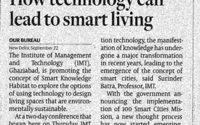 How technology can lead to smart living