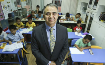 Former banker and businessman starts tuition centre for Hong Kong minorities