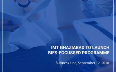 IMT Ghaziabad to launch BIFS-focussed programme