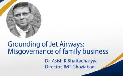 Grounding of Jet Airways: Misgovernance of family business