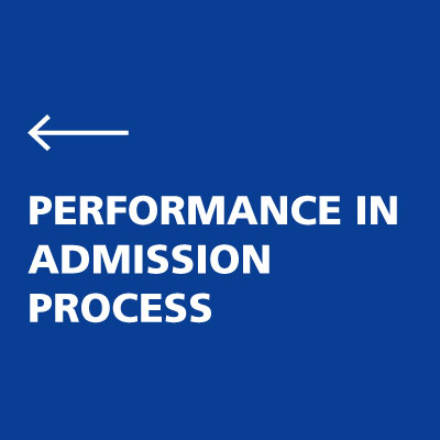 performance in IMT Admission process